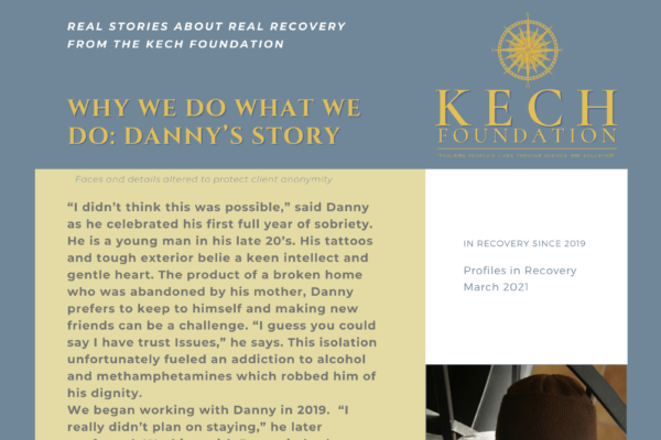 Profiles in Recovery Danny D