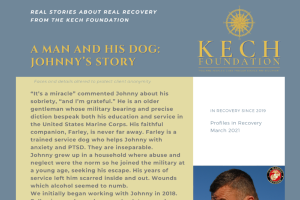 Profiles in Recovery Johnny