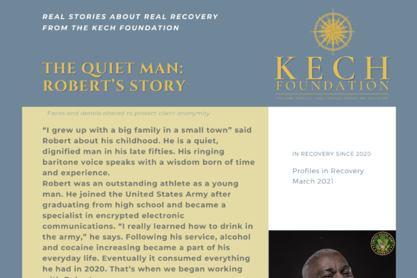 Profiles in Recovery Robert